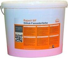 Rajasil SIF Silikat-Fassadenfarbe - 15 l Eimer
