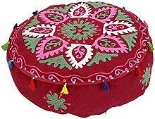 Rajrang Adorn Hocker, Ottoman, Sitzsack Floral