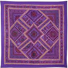 Rajrang Art Wandbehang Baumwolle , Lila, Wandbehang, Wanddeko Dekoration