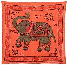 Rajrang Art Wandbehang Bestickt Baumwolle Braun Wandbehang, Wanddeko Dekoration