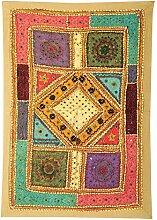 Rajrang Art Wandbehang Wandbehang, Wanddeko Handarbeit Baumwolle Olive Grün Dekoration