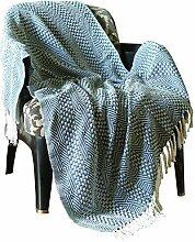 RAJRANG blau Patchwork blau - Quilt Vintage
