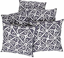 RAJRANG Dekoration Cushs Handarbeit Gray Baumwolle