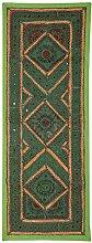 Rajrang Dekoration Wandbehang Handarbeit grün Wandbehang, Wanddeko fürs Esszimmer