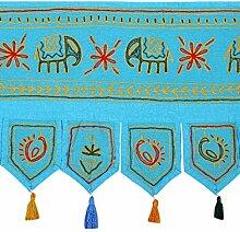 Rajrang Ethnische Bestickter Türaufhänger,