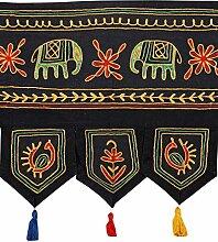 Rajrang traditionell bestickter Türaufhänger,