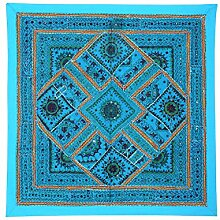 RAJRANG Wandbehang Handarbeit Turquoise