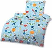 Rakete Kinderbettwäsche · Jungen-bettwäsche ·