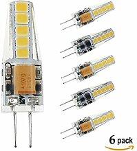 Ralbay G4 LED Kaltweiß 6000K, LED G4 AC/DC12V