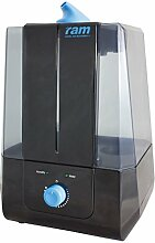 RAM Ultraschall-Luftbefeuchter 5 L-Behälter, schwarz, 25x27x33 cm, 09-435-400