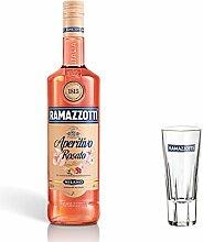 Ramazzotti Aperitivo Rosato Set mit Glas,