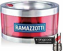 Ramazzotti Aschenbecher Ashtray Glas Gläser