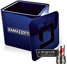 Ramazzotti Eiswürfel Eis Box Kühler Glas Gläser
