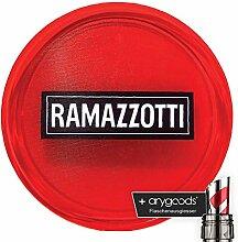Ramazzotti Glas/Gläser Servier Kellner Tablett