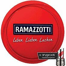 Ramazzotti Glas/Gläser Servier Tablett Kellner