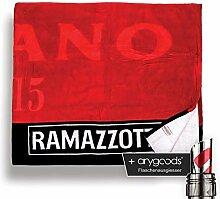 Ramazzotti Handtuch Strandtuch 100% Baumwolle Glas