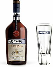 Ramazzotti il Premio Kräuterlikör Set mit Glas,