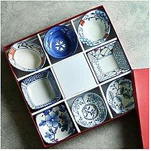 Ramekin Dish Keramik Sushi Geschirr Set 8pc for