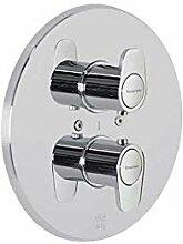 Ramon Soler 3687S Thermostat-Bade-Duscharmatur,