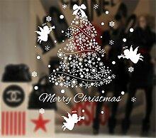 Ramonala Fensterfolie Weihnachten Schneeflocken