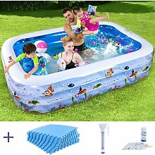 Ramroxx - Kinder Pool NEMO + Schutzmatte +
