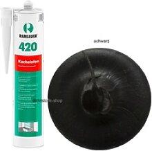Ramsauer 420 Kachelofen schwarz 1K Acryl