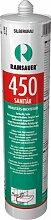 Ramsauer 450 Sanitär hellgrau 1K Silikon Dichtstoff 310ml Kartusche