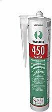 Ramsauer 450 Sanitär Silikon hellgrau 1K Dichtstoff 310ml Kartusche