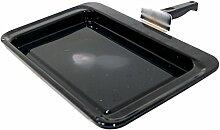 Rangemaster A094257 Backofen und Herdzubehör / Kochfeld / Original Ersatz-Grillpfanne Montage für Ihren Grill / Versammlung