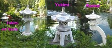 Rankei 80cm + Yukimi A +Yukimi auf Säule A
