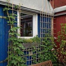 Rankgitter-Set zum selber bauen - 25 Bambusstäbe