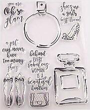 Ranuw Parfüm Flasche Silikon Clear Seal Stempel