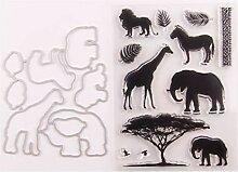 Ranuw Tiere Siegel Stempel Mit Stanzformen