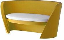 Rap Sitzbank, gelb