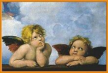Raphael - Little Angels - Poster Gemälde