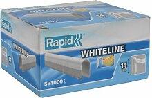 Rapid 11886911 Kabelklammern Typ 36/14mm DP weiß,