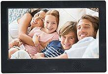 RAPLANC Digitaler Fotorahmen, 10-Zoll-HD-Display,