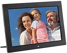 RAPLANC Digitaler Fotorahmen, 13-Zoll-HD-Display,