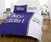 Rapport My Side Your Side Double Bettbezug und