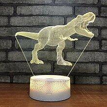 Raptor Tyrannosaurus Dinosaurier Geschenk 3D