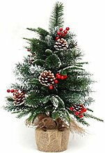 Rart Mini-Weihnachtsbaum,Bonsai dekoriert fichte