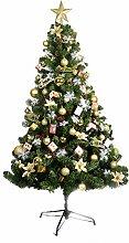 Rart Weihnachtsbaum geschmückt,Künstliche