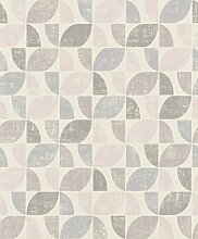 Rasch 519815 Vliestapete, Pink/Violett / Lila