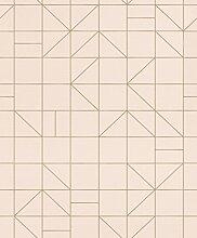 Rasch 610734 Vliestapete, Pink, Pink, Violett, Lila