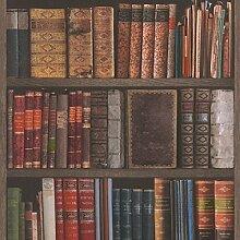 Rasch-Bibliothek Bücher Tapete - 934809