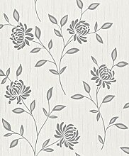 Rasch paperhangings 319804Tapete Wandverkleidung,–weiß (12)