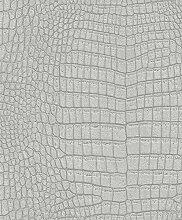 Rasch paperhangings 475715Tapete Wandverkleidung,–Grau (12)