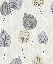 Rasch paperhangings/grau Tapete Wandverkleidung,–Grau (12)