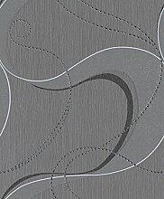 ✔✔ rasch Tapete Plaisirs 454925 Grau Weiß ,