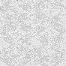Rasch Tapeten Vliestapete (grafisch) Grau Silber